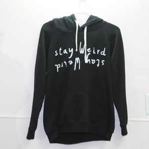 Blue Notes Stay Weird  Graphic Hoodie